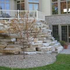 Fond Du Lac Outcropping Stone