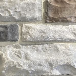 Harbor European Limestone w/ White Grout