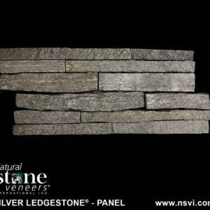 Silver Ledgestone Natural Thin Stone Panel