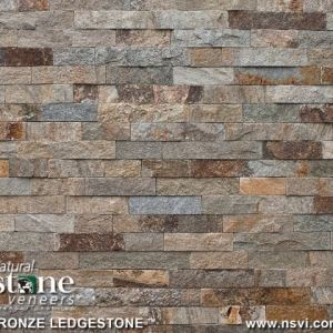 Bronze Ledgestone (Thin Veneer Only)