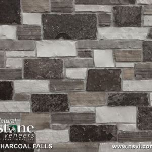 Charcoal Falls  (Thin Veneer or Full Thickness)