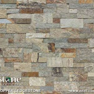 Copper Ledgestone (Thin Veneer Only)