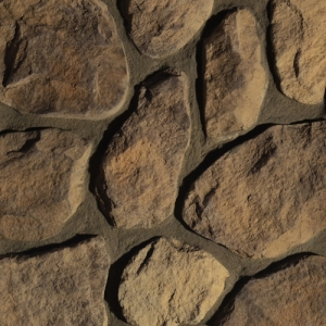 Buckskin Split-Face Fieldstone