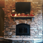 7 Popular Stone Veneer Fireplace Design Trends